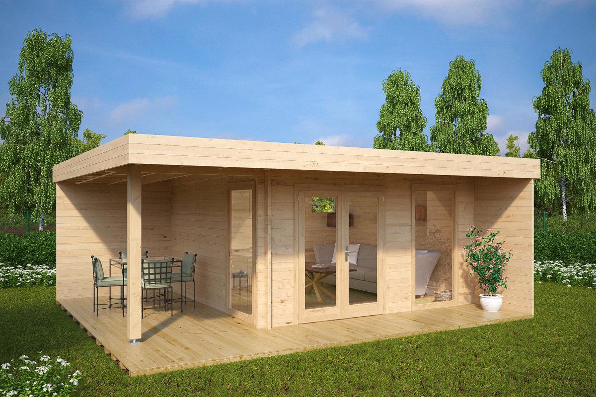 vrtna uta hansa lounge xl 15m2 6 x 5 m 44mm vrtne ute 24. Black Bedroom Furniture Sets. Home Design Ideas